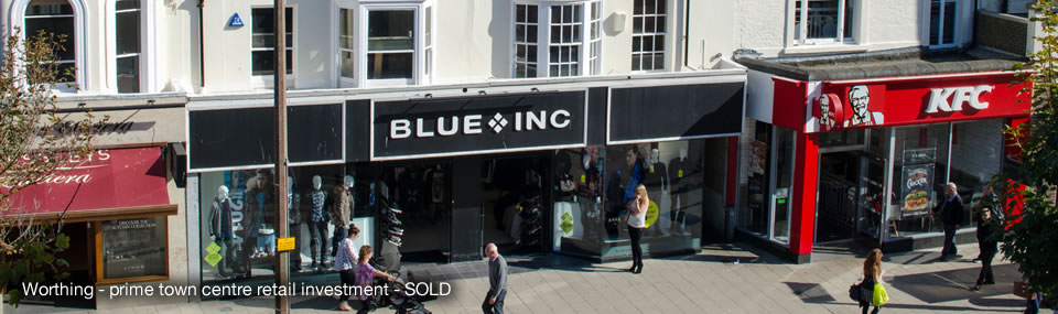 Investment, South Street, Worthing, West Sussex